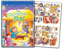 Christmas Star Sticker Book