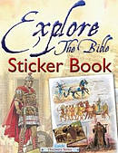 Explore the Bible Sticker Book