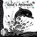 God's Animals: Black And White Baby Book