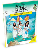 My Mini Bible Sticker Books: Moses and the Princess and Other Stories