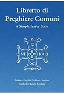 Libretto di Preghiere Comuni