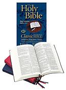 KJV Classic Reference Bible: Burgundy, Vinyl Paperback