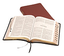 KJV Text Bible: Burgundy, Calfskin, Thumb Index