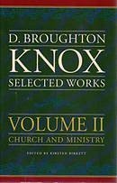 D Broughton Knox Selected Works Vol 2 Hb