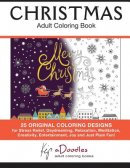 Christmas: Adult Coloring Book