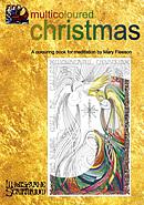 Multicoloured Christmas Colouring Book