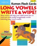 Long Vowels Write And Wipe Flash Cards