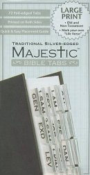 Bible Tabs Large Print Traditional Silve
