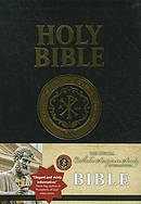 RSV Catholic Bible Large Print Black Bonded Leather