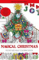 Magical Christmas Adult Coloring Book Stocking Stuffer Edition