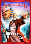 Superbook: Let My People Go! DVD