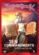 Superbook: The Ten Commandments DVD