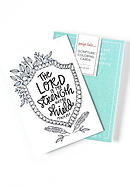 Scripture Coloring Cards: Color, Share, and Inspire