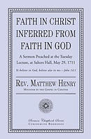 Faith in Christ Inferred from Faith in God