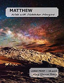 Matthew Wide with Notetaker Margins: Large Print - 18 Point, King James Today