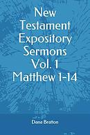 New Testament Expository Sermons Vol. 1 Matthew 1-14