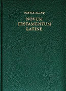 Latin Vulgate New Testament