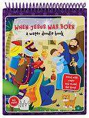 Water Doodle Book: When Jesus was Born
