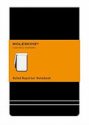 Moleskine Pocket Ruled Reporter Notebook
