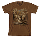 As The Deer 2 T Shirt: Brown, Adult Small