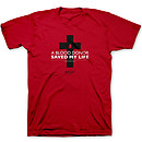Blood Donor Red T-Shirt Medium