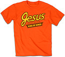 Sweet Jesus T Shirt: Orange, Adult Small