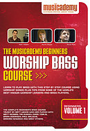 Worship Bass Course: Beginners, vol. 1