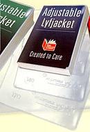 Adjustable Lyfjacket - Height 210mm