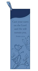 Psalm 55:22 LuxLeather Book Mark