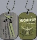 Witness Gear -  Worship Dog Tag