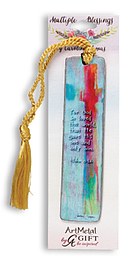 For God So Loved the World Metal Bookmark