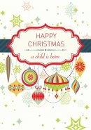 Christmas Card Tear-Off Pack (Pack of 35)