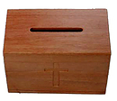 Small Lockable Offering Box