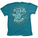 Cherished Girl Wonderful Flowers T-Shirt Large