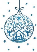 Away In A Manger Charity Christmas Cards Pack of 10