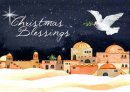 Christmas Blessings Christmas Cards Pack of 10