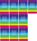 Good News Bible Rainbow Pack of 10