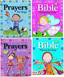 Bible Stories & Prayers for Girls and Boys Value Pack