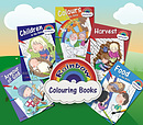 Rainbow Colouring Book Value Pack