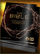 The Bible Mini Series Souvenir Guide Pack of 10