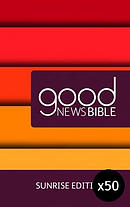 Sunrise Good News Bible Pack of 50