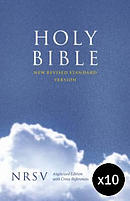 NRSV Cross Reference Bible: Hardback Pack of 10