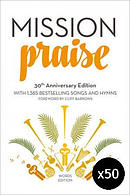 New Mission Praise - Words Edition Hardback Pack of 50