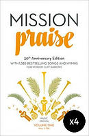 New Mission Praise Full Music Edition Pack of 4