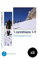 1 Corinthians 1-9: Challenging Church Pack of 6