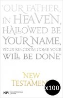 NIV New Testament Pack of 100