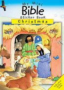 My Mini Bible Sticker Book: Christmas Pack of 20