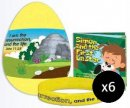 Jumbo Gospel Egg with Bracelet & Booklet - Pack of 6