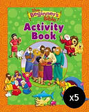 The Beginner's Bible Activity Book - Pack of 5
