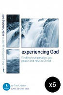 Experiencing God: Finding true passion, peace, joy, and rest in Christ - Pack of 6